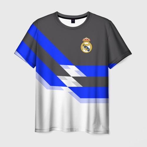 Мужская футболка 3D Real Madrid 2018
