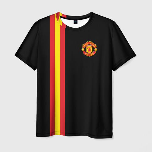Мужская футболка 3D Manchester Line Collection