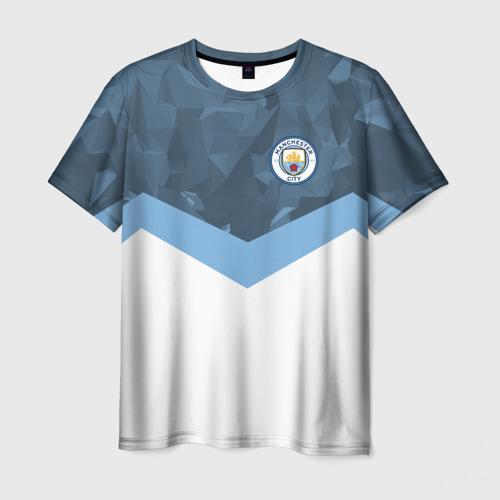 Мужская футболка 3D Manchester city 2018 Sport