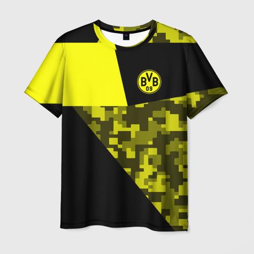Мужская футболка 3D Borussia Dortmund 2018 Sport
