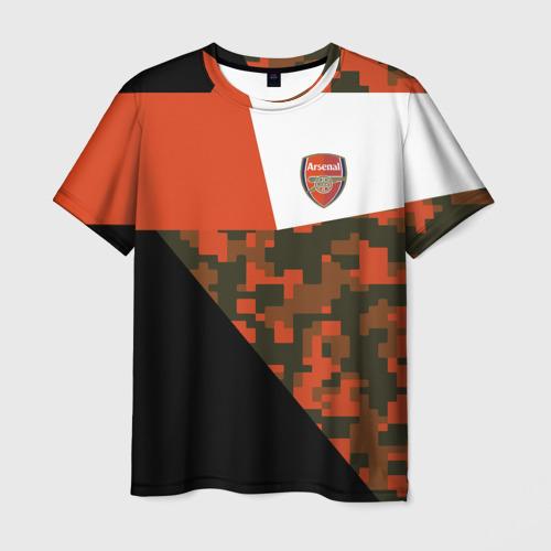 Мужская футболка 3D FC Arsenal 2018 Sport