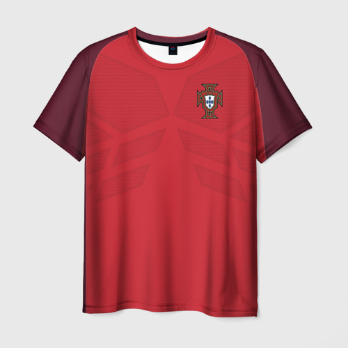 Мужская футболка 3D Portugal 2018