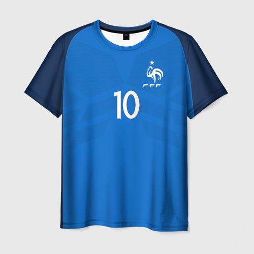 Мужская футболка 3D Benzema 17-18