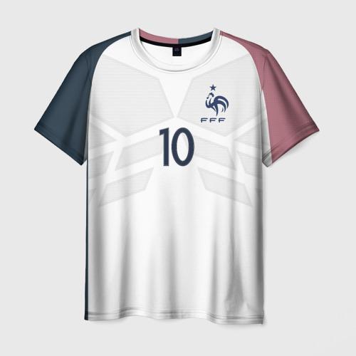 Мужская футболка 3D Benzema away 17-18