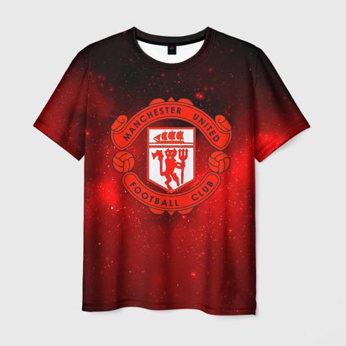 Мужская футболка 3D FC Манчестер