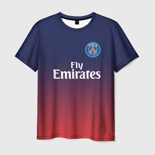 Мужская футболка 3D PSG 2018 Original 12