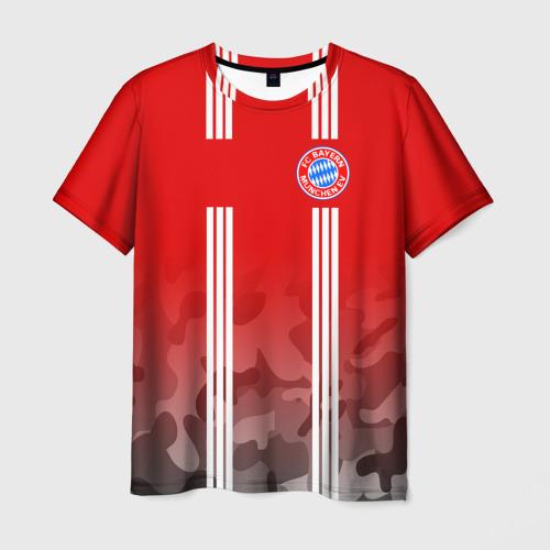 Мужская футболка 3D FC Bayern 2018 Original 7
