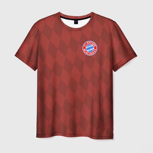 Мужская футболка 3D FC Bayern 2018 Original 10