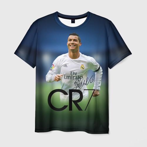Мужская футболка 3D Криштиану Роналду 3