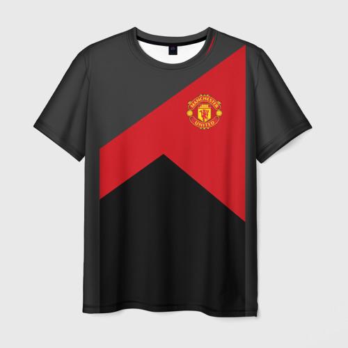 Мужская футболка 3D Manchester United 2018 19