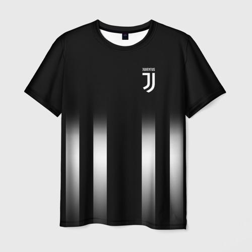 Мужская футболка 3D Juventus 2018 Line