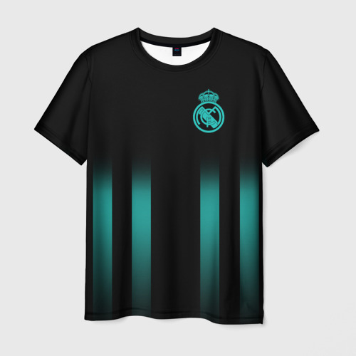 Мужская футболка 3D Real Madrid 2018 Line