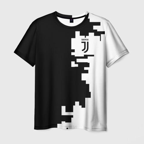 Мужская футболка 3D Juventus 2018 Geometry Sport