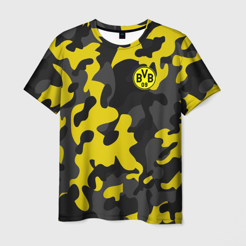 Мужская футболка 3D Borussia 2018 Military Sport