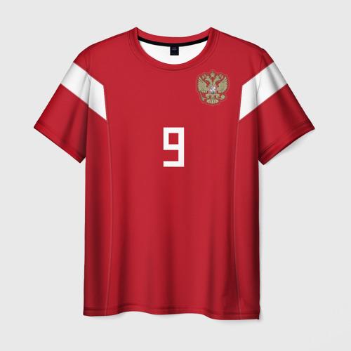 Мужская футболка 3D Кокорин ЧМ 2018