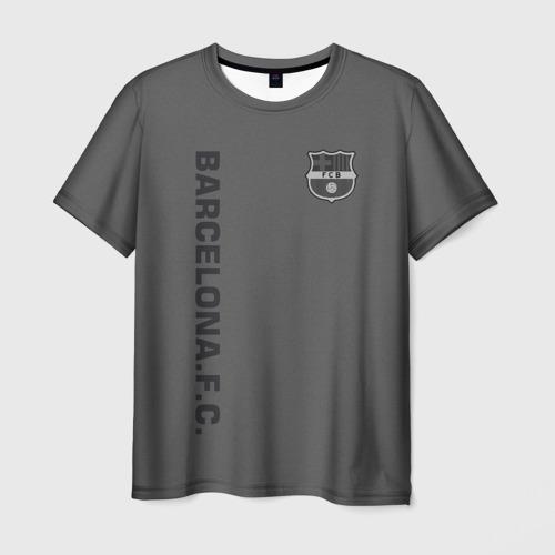 Мужская футболка 3D FC Barca 2018 Vintage