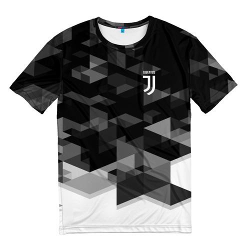 Мужская футболка 3D JUVENTUS GEOMETRY SPORT