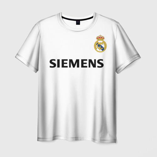 Мужская футболка 3D Zidane ретро