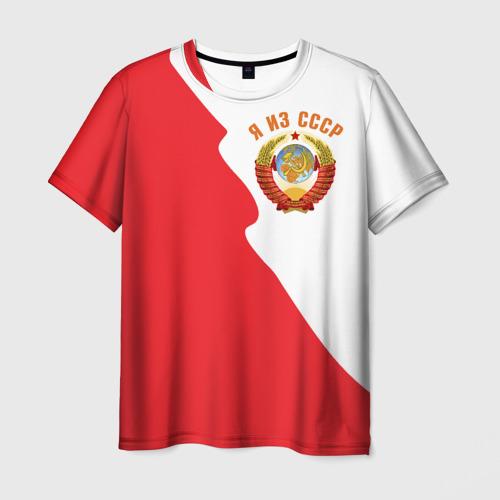 Мужская футболка 3D Я из СССР