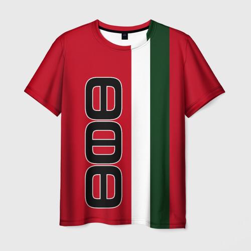 Мужская футболка 3D ФК УФА 3