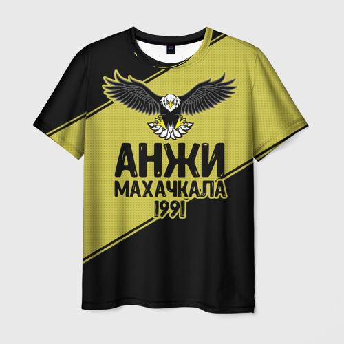 Мужская футболка 3D Анжи Махачкала 2