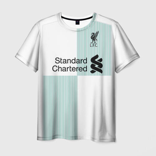 Мужская футболка 3D Liverpool alternative 17-18