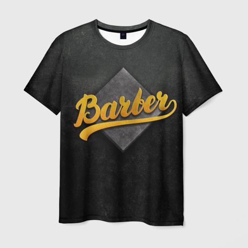 Мужская футболка 3D Barber