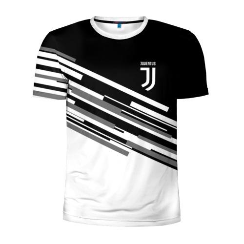 Мужская футболка 3D спортивная JUVENTUS STRIPES STYLE
