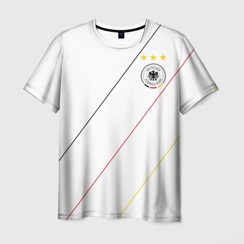 Мужская футболка 3D Германия, форма