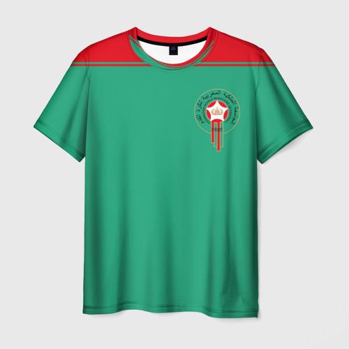 Мужская футболка 3D Марокко, форма