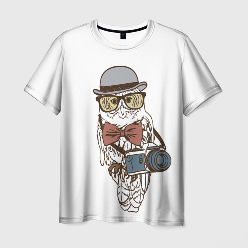 Мужская футболка 3D Фотограф