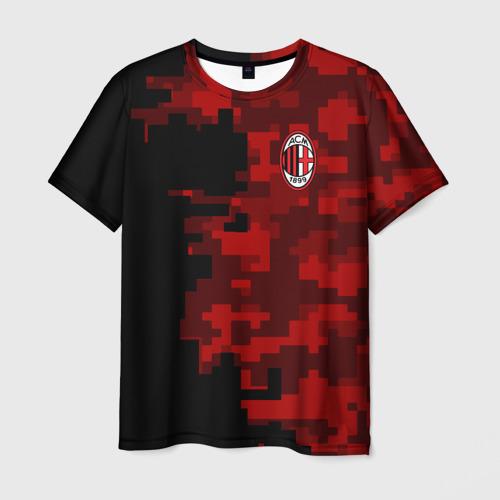 Мужская футболка 3D AC MILAN