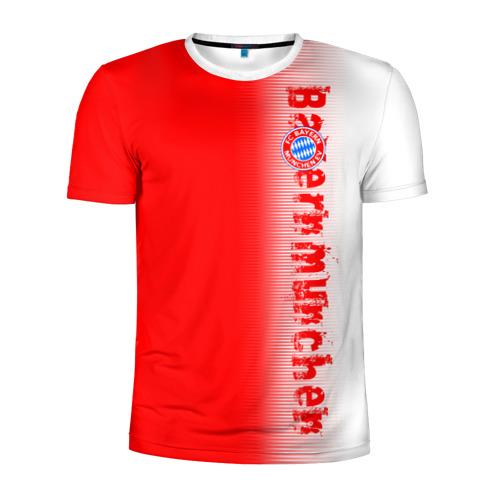 Мужская футболка 3D спортивная FC Bayern 2018 Original