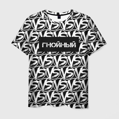 Мужская футболка 3D VERSUS BATTLE-ГНОЙНЫЙ