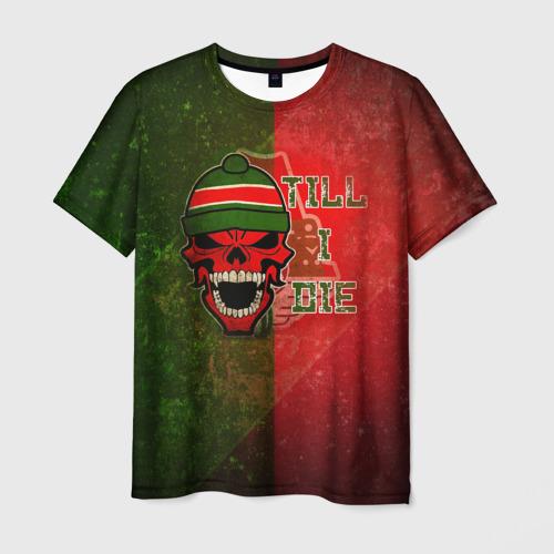 Мужская футболка 3D Локомотив