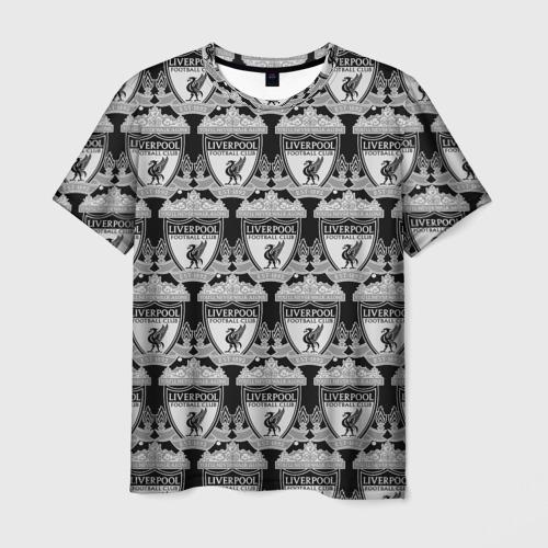 Мужская футболка 3D Liverpool Black&White