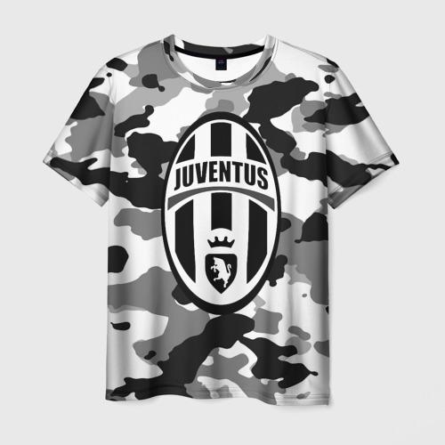 Мужская футболка 3D FC Juventus Camouflage