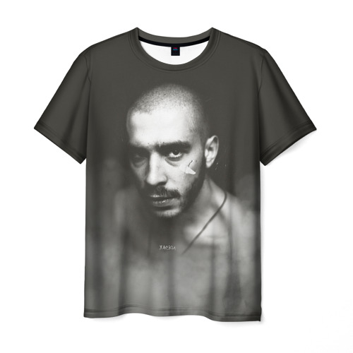 Мужская футболка 3D Хаски