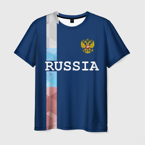Мужская футболка 3D RUSSIA