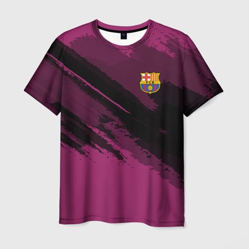 Мужская футболка 3D Barcelona sport