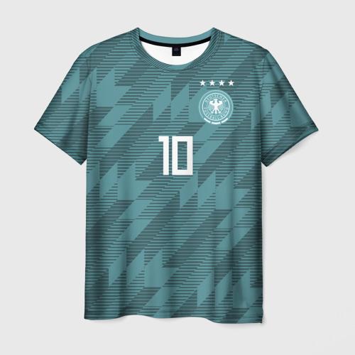 Мужская футболка 3D Ozil away WC 2018
