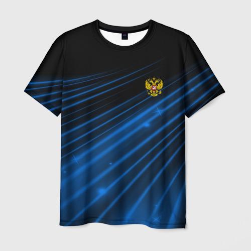 Мужская футболка 3D Russia Sport 2018 uniform