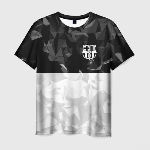 Мужская футболка 3D FC BARCELONA (BARCA)   ФК БАРСЕЛОНА