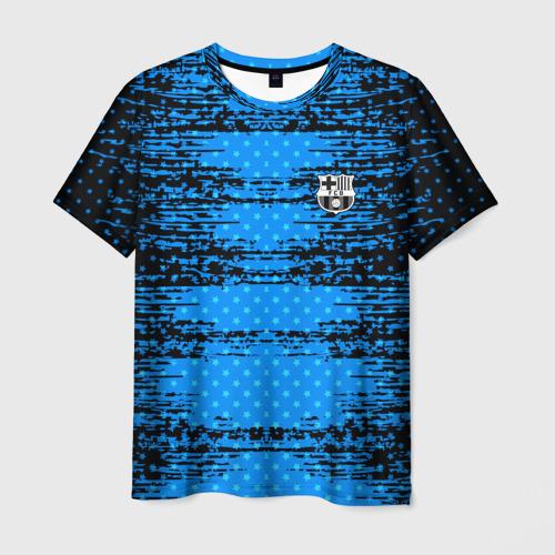 Мужская футболка 3D Barcelona sport uniform