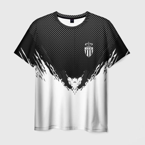 Мужская футболка 3D Monaco black 2018