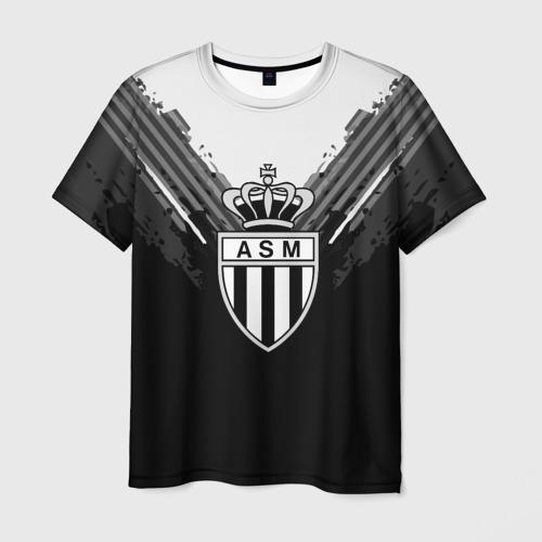 Мужская футболка 3D Monaco abstract original