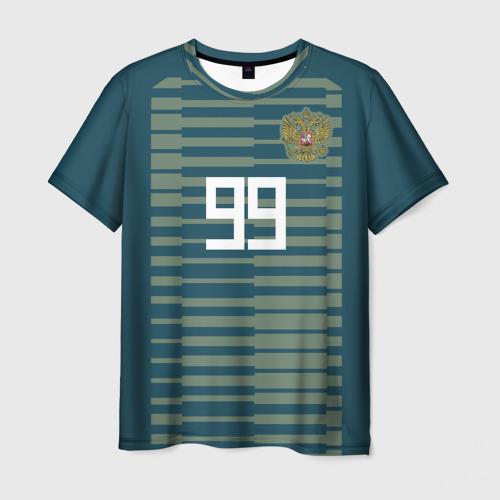 Мужская футболка 3D Лунёв ЧМ 2018