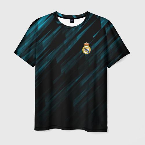 Мужская футболка 3D REAL MADRID