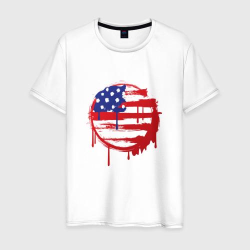 Мужская футболка хлопок Америка