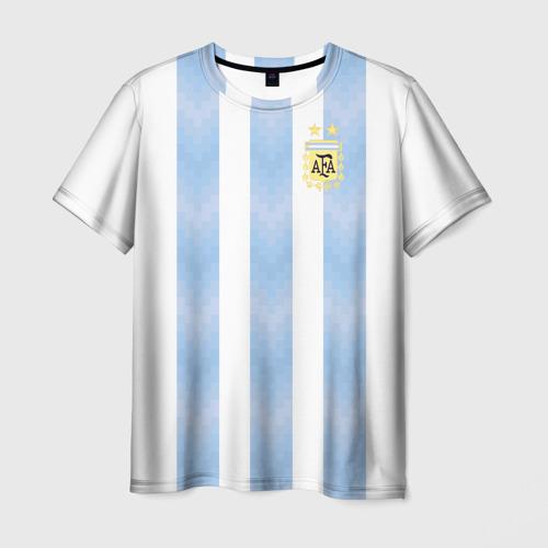 Мужская футболка 3D Аргентина